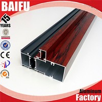 Baifu aluminum profile turkey for 108 series thermal break window