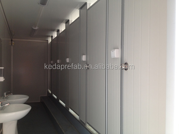 Low Cost Easy To Install Design Toilet Container Container Bathroom Prefab Ablution Buy Toilet