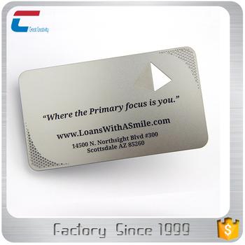 Günstige Scheckkartenformat Metall Visitenkarte Buy Scheckkartenformat Visitenkarte Scheckkartenformat Metall Karte Billige Metall Visitenkarten