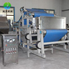Industrial belt type fruit press machine