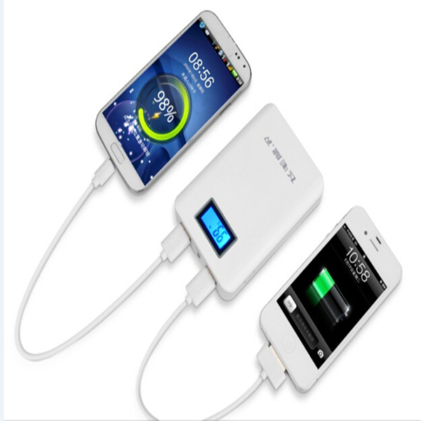 External Power Bank 10400mah With Power Display Mobile Phone Recharger LED Powerbank Mobile Power Bank For All  Mobile phones