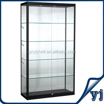 Charmant Glass Modern Retail Display Cabinet With LED Lights