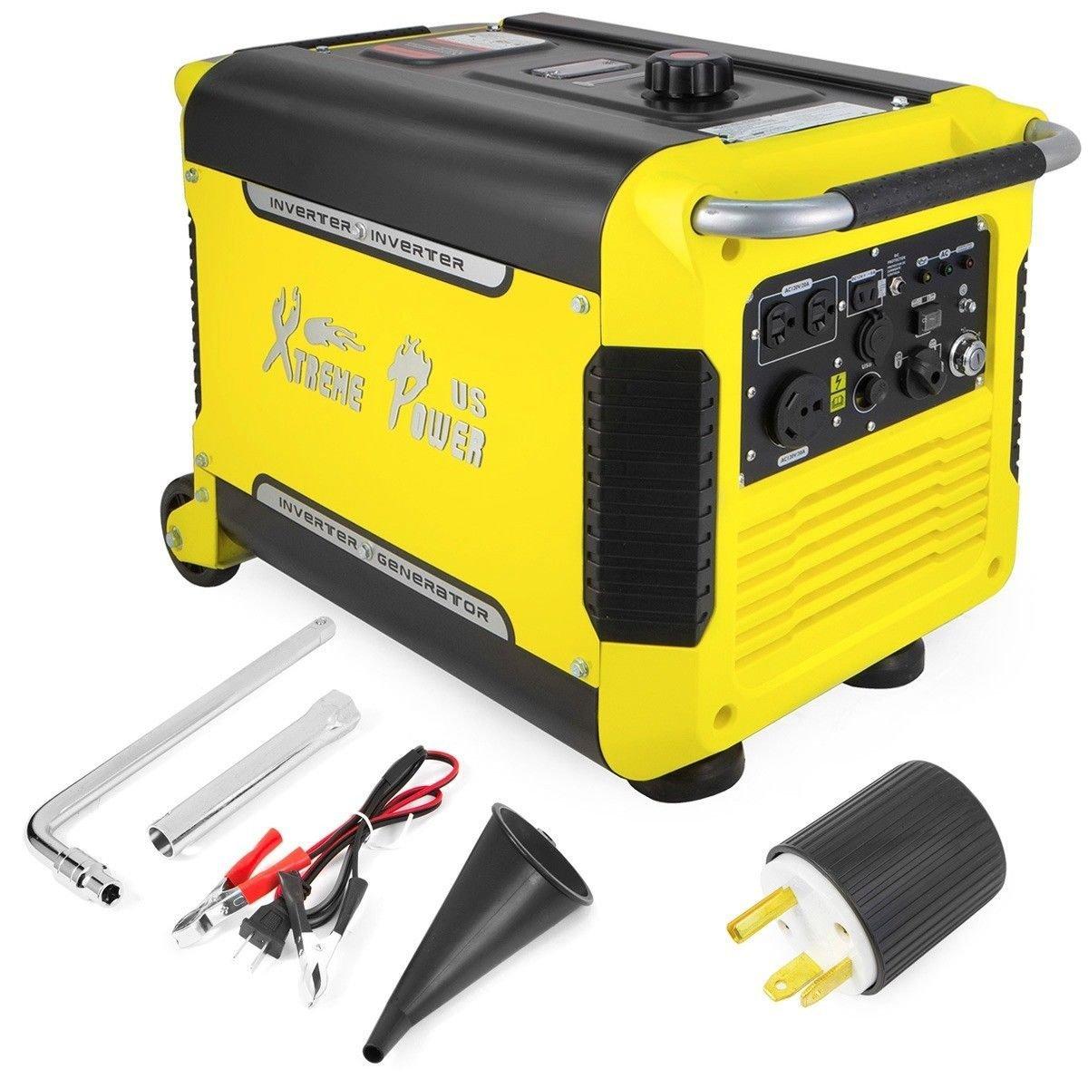 Get Quotations Eight24hours 3000 Watt Portable Digital Inverter Quiet Generator Electric Start