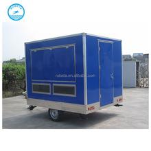 Multifunction food van caravan / outdoor food kiosk for sale