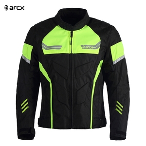 ARCX All Weather Armored Motorcycle Riding Jacket Oxford Cloth Motorbike Jacket
