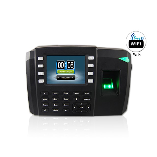 ZKF18 Biometric Fingerprint Terminal Time Attendance Machine Price And Access Control