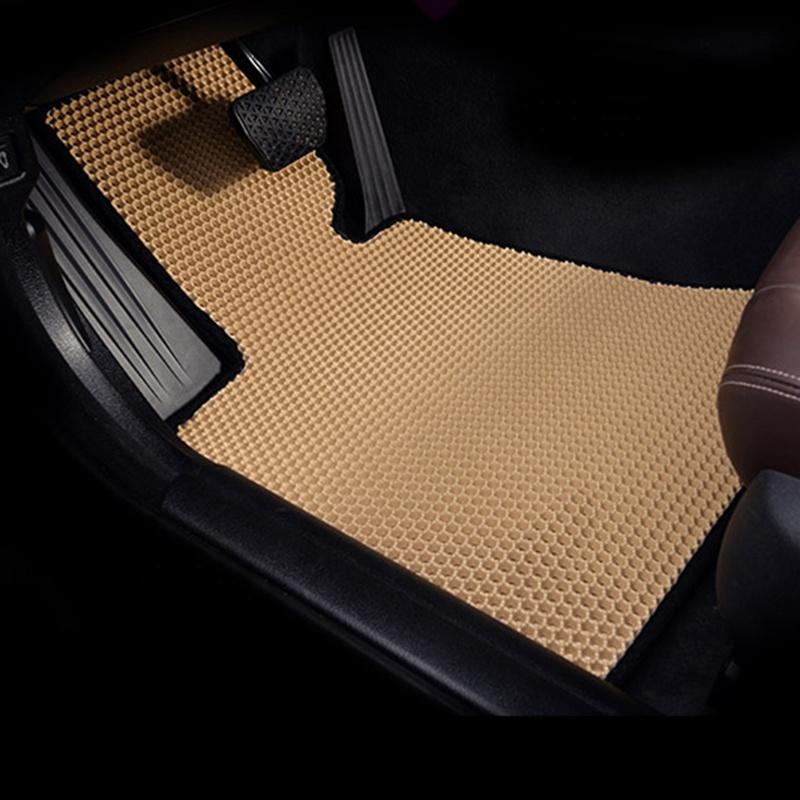 カスタム車のマット手縫製ゴム eva 車のフロアマット防水簡単にきれいな