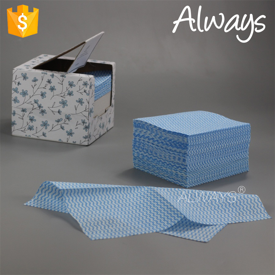 Creative design with household dry Cloth For Cleaning in a box