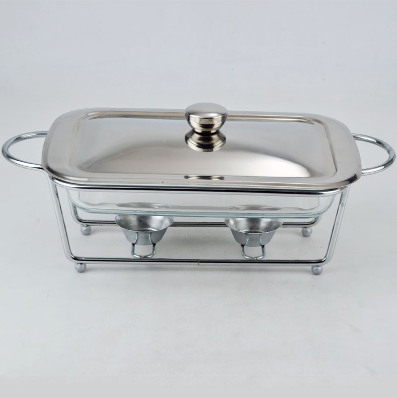 wholesale steel buffet chafing dish with glass pan set buy buffet chafing dish roll top. Black Bedroom Furniture Sets. Home Design Ideas