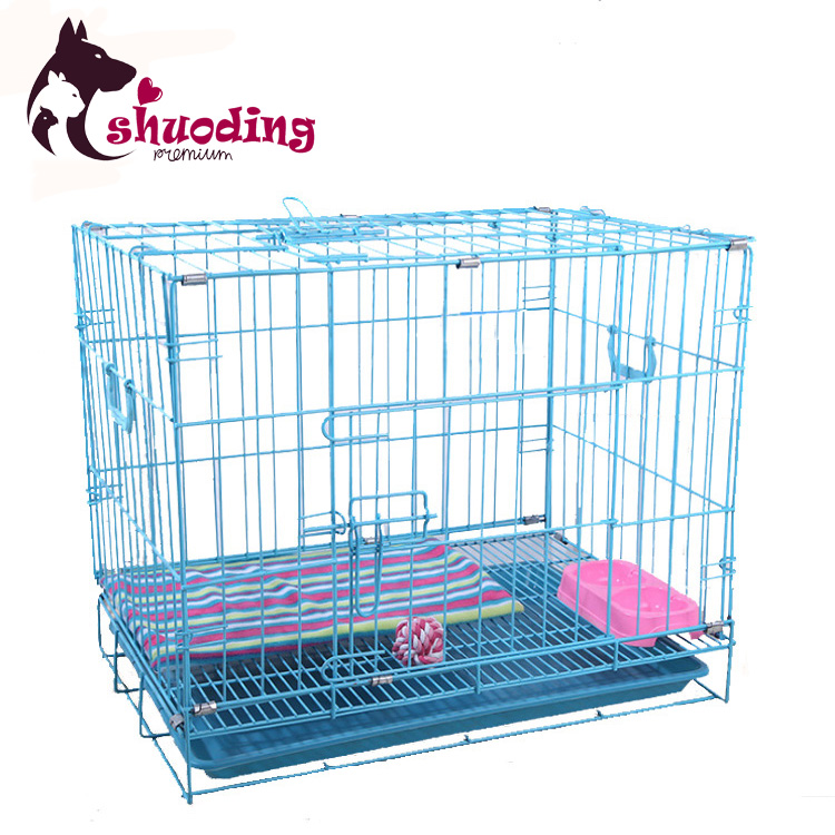 Hot Selling Collapsible Wire Dog Cage Pet Cage With Tray