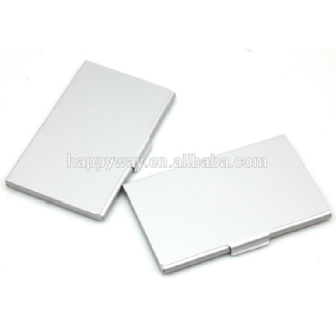 Promotional Aluminum Business Card Case, MOQ 100 PCS 0706045 One Year Quality Warranty