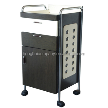 Beauty salon MDF Salon Trolley Plastic Trolley Cart