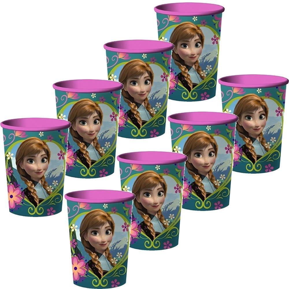 Disney Frozen 16 oz. Souvenir Plastic Party Cups - 8 Pieces