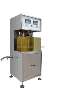 High precision weighing olive/edible oil filling machine