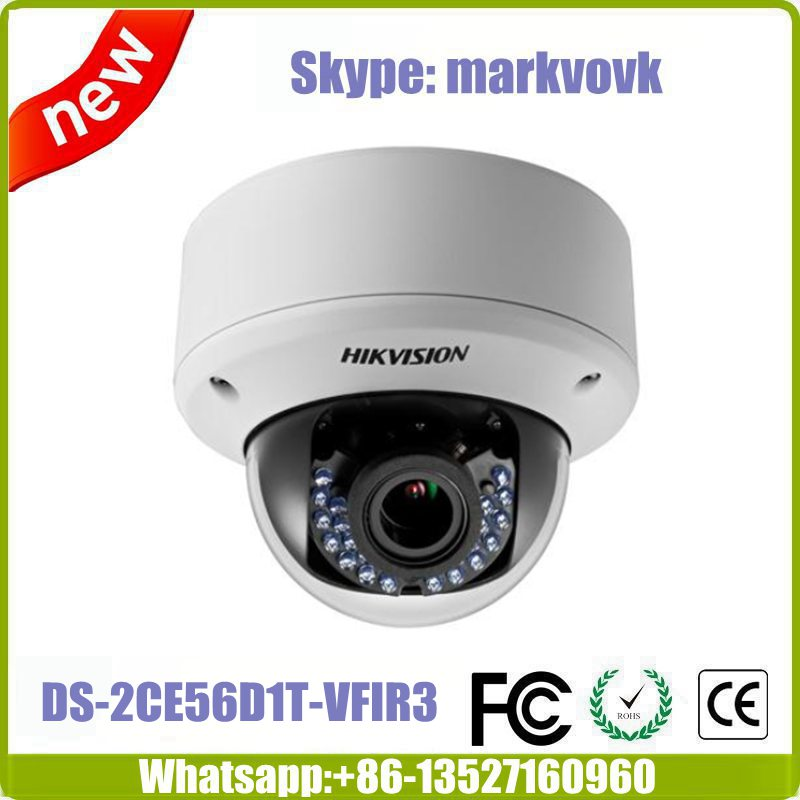 Hik vision HD1080P Vandal Proof IR Dome Camera DS-2CE56D1T-VPIR3