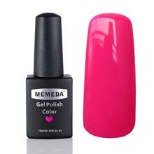 1 piecesot selling gel nail polish 89 Fashion Colors soak off LED UV Gel Polish 10ML