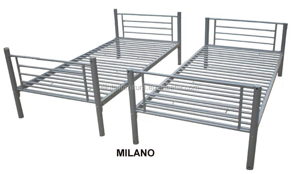 Home, Furniture & Diy Metal Frame Single Bed 3ft Wide With Quality Mattress Luxuriant In Design