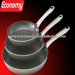 Induction stainless steel Frying Skillets for restaurant cooking