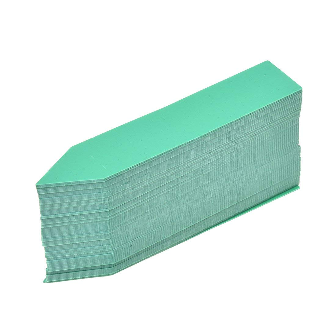 TOOGOO(R) 100 Pcs Plastic Plant Seed Labels Pot Marker Nursery Garden Stake Tags 10cm x 2cm (Green)