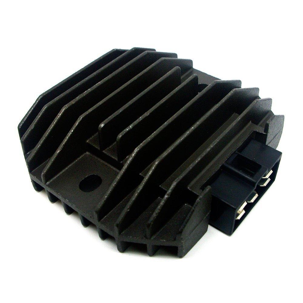 CBK New Voltage Rectifier Regulator For Yamaha YZF R1 1999-2001 YZF R6 1997-2002 FZR600 1994-1995/YZF600 1996-2005 V-STAR XVS400 DS400 1996-2008 XP500 T-MAX 500 2001-2006 2002 2003