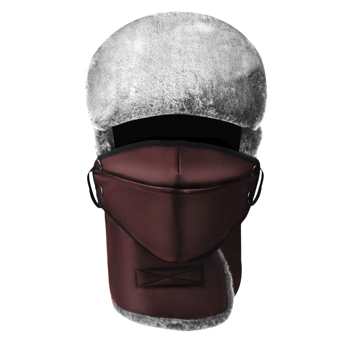 7c16f7a151c Get Quotations · MOOKZZ Winter Trapper Fur Hat