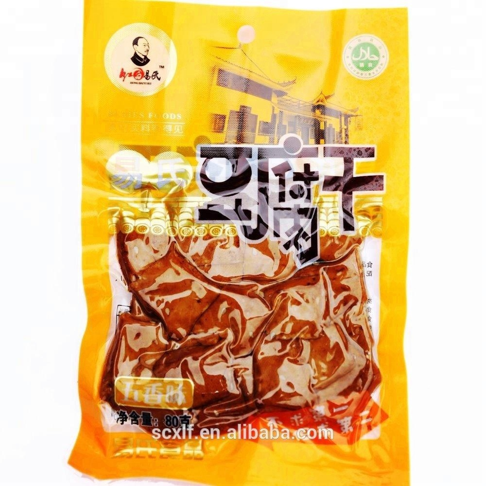 80g 100g 250g Dried Tofu Chinese Cheese Spiced Bean Curd Popular Snacks