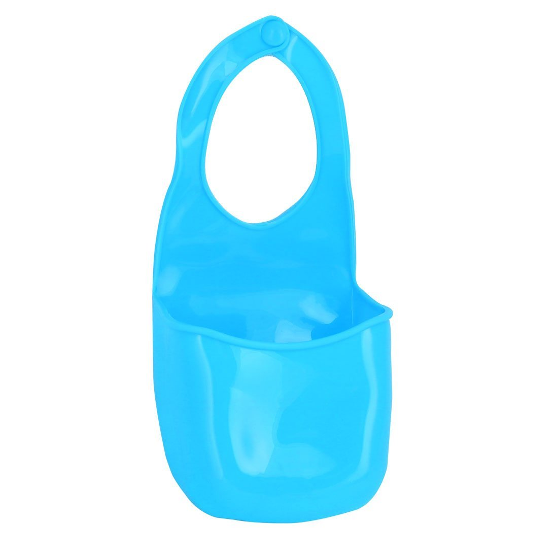 uxcell Silicone 3 Holes Design Hanging Storage Bag Case Organizer Blue