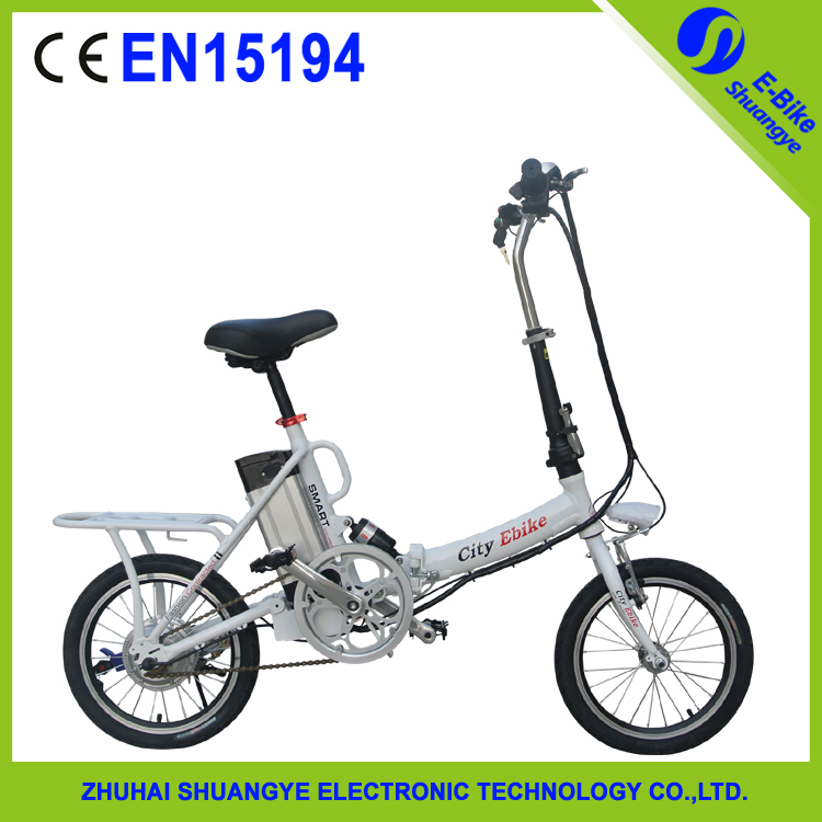 "20"" Cheap Motorized Electric Battery Powered Bicycle"