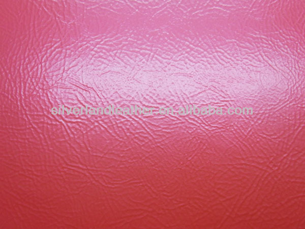 China Hot sale Brightly color faux leather for bar and decorating sofa