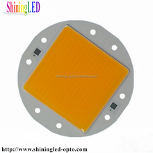 Light Emitting Diode for Fresnel Lamp 50V 4A High CRI Square Luminous Area High Power CRI95 45mil Bridgelux chip 200W COB LED