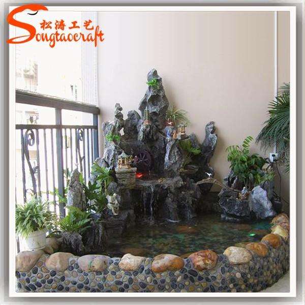 Guanzhou cuadros de piedra de buda fuente de agua para el - Fuentes de piedra de pared ...