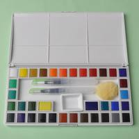 Professional Watercolor Paint Set 36 japanese watercolor