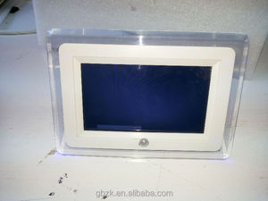 "7 inch lcd small "" retail display video screens digital advertising 10"" screen 7"" lcd point of sale video player"