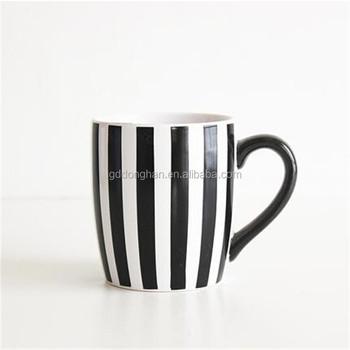 Buy Blanche Blanc Rayure Tasse Froide Décalque Adorable Noir De Café tasse Autocollant En Bleu Eau Bleue Pour Thé hdtxBsQrC