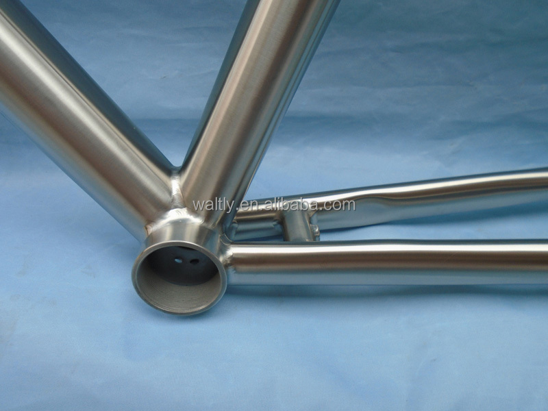 Cheap titanium road frame made in china bike parts import