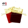 High quality high sales velvet drawstring gift bag