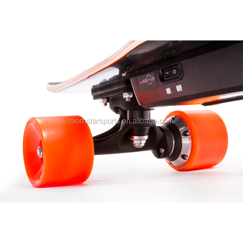 Diy Battery Powered Electric Skateboard Controlled By Handhold Wireless Remote