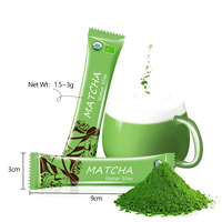 Dropshipping Japanese Halal Pure Matcha Tee Bio Certificate Te Machine Private Label Capsule Kitkat Matcha Green Tea Organic