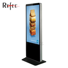 55 inch Android interactive kiosk, kiosk touch screen,digital media player