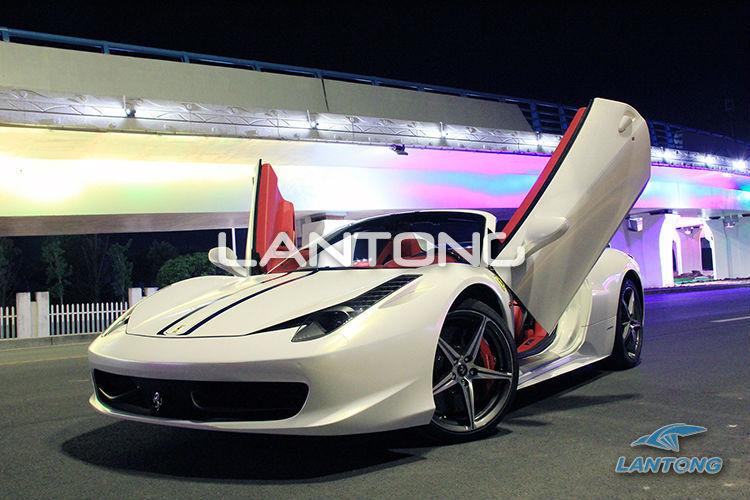 Bolt On Lambo Doors Vertical Door Kit Body Kit For Ferrari 458 & Bolt On Lambo Doors Vertical Door Kit Body Kit For Ferrari 458 ... pezcame.com