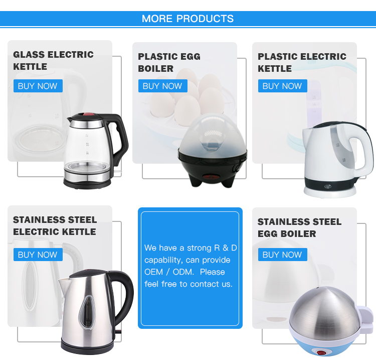 CB/CE/GS/LFGB Approval 1.8L Electric Glass Kettle