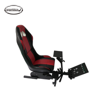 2019 newest popular China OEM car simulator vr gaming racing chair driving driver car simulator