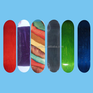 Skateboard Parts Good Quality 7 ply hard rock canadian maple skateboard deck
