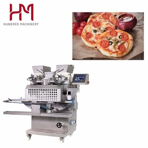 Pizza Maker Bread Kneading Automatic Production Line Roll Pastry Sheeter Plant Stick Flat Pita Cake Mixing Machine