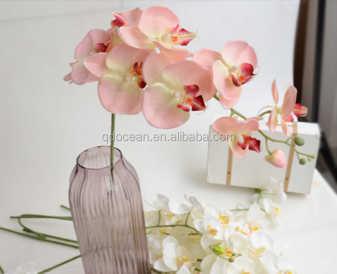 China artificial silk flowers factory direct artificial flowers high china artificial silk flowers factory direct artificial flowers high quality blue orchid for sale with reasonable mightylinksfo