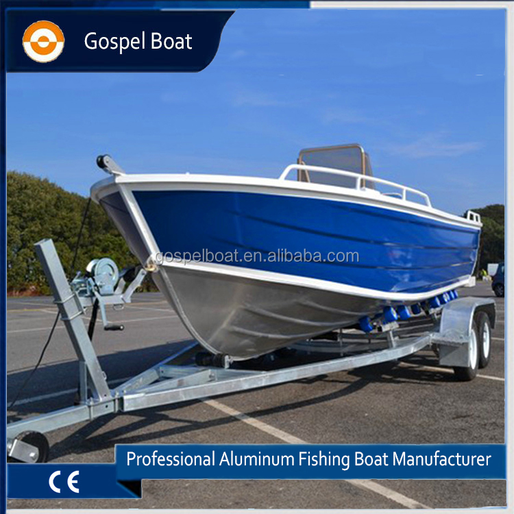 20ft Steering Console Aluminum Work Boat Fishing Vessel