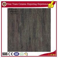 Porcelain polished tile wood grain vinyl floor tile