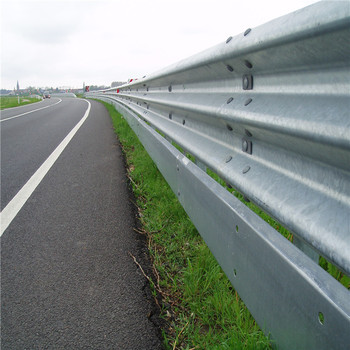 Powder coated highway W-Beam corrugated beam guardrail(Manufacture)