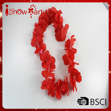 100% Handcrafted Hawaii Flower Lei Necklace for Party artificial garlands