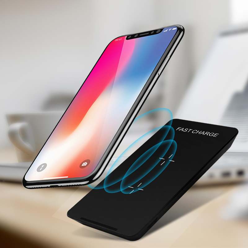 2019 OEM Qi Wireless Charger Stand 10W Fast Charging Wireless Car Charger For iPhone X 10 8 Plus